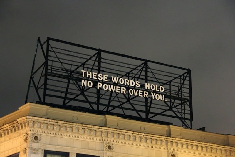 Billboard messages everyday 01