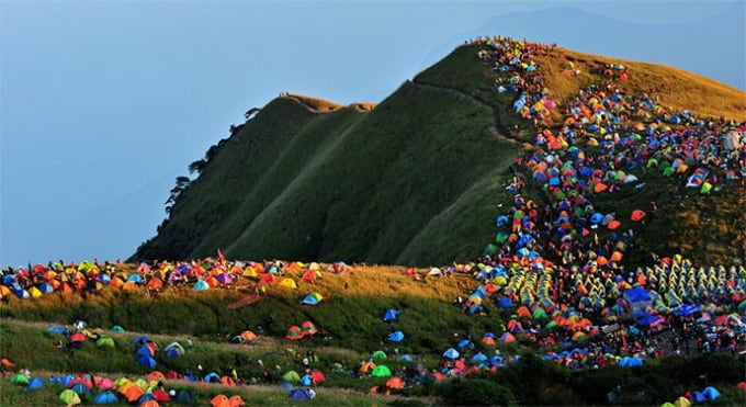 Camping Festival in China1