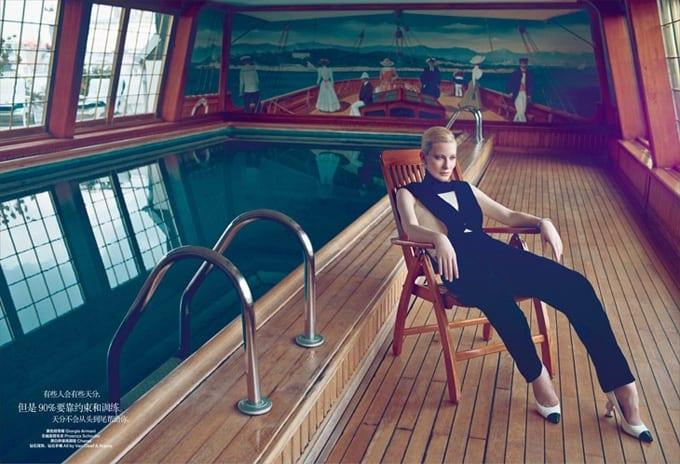 Cate Blanchett Harpers Bazaar China Koray Birand 10