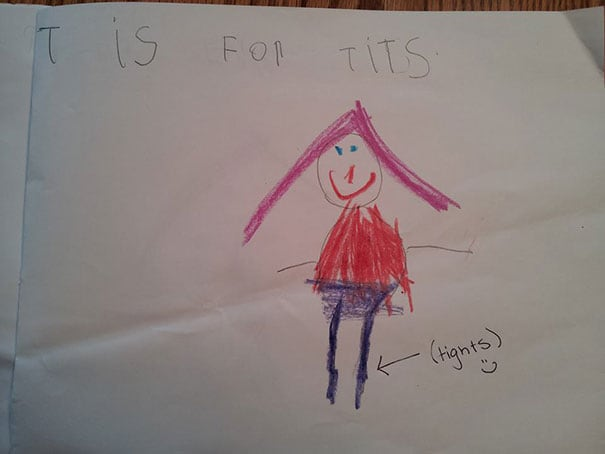 Childrens Hilariously Inappropriate Spelling Mistakes 2014 01