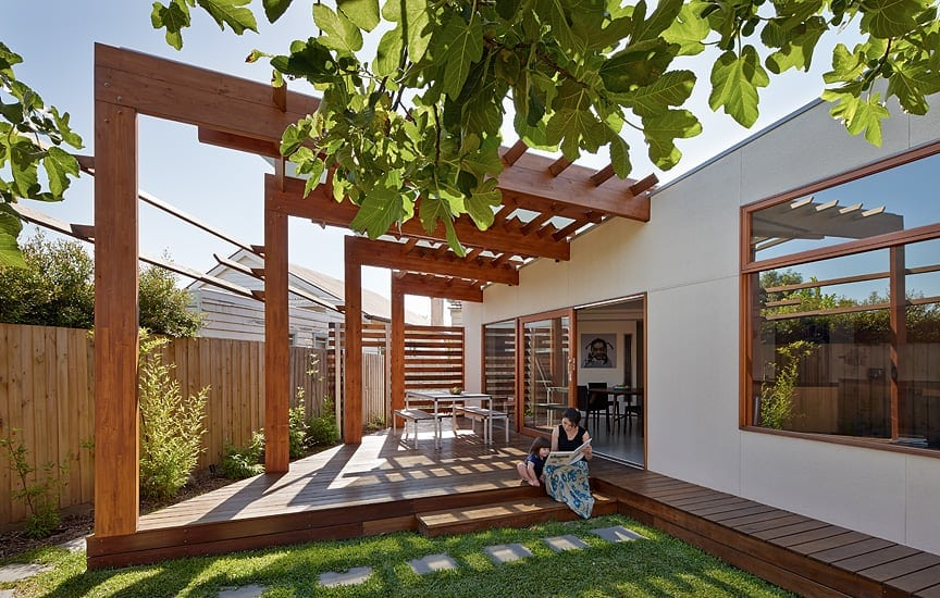 Crib and Chock House extension of residence by Windust Architects HomeWorldDesign 1