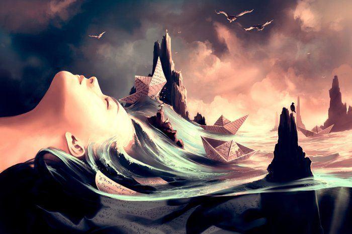 Digital Paintings by Cyril Rolando 1
