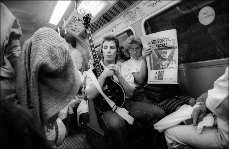 Down the Tube Travellers on the London Underground 1987 1990 2014 01