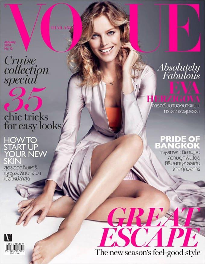 Eva Herzigova Vogue Thailand Marcin Tyszka 00