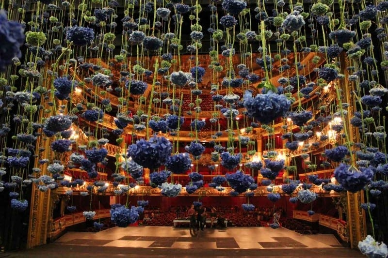 Floral Art Hermes Maecenas Dinner 2013 by Rebecca Louise Law Yellowtrace 13