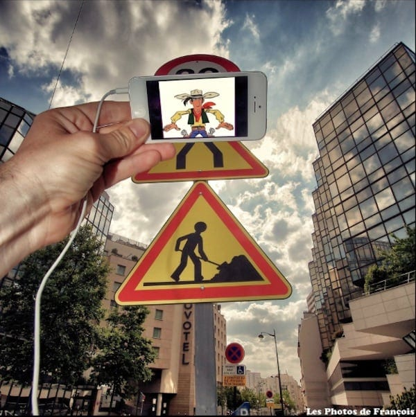 Francois Dourlen Blurs The Line Between Popular Culture And The Real World With His IPhone 2014 01