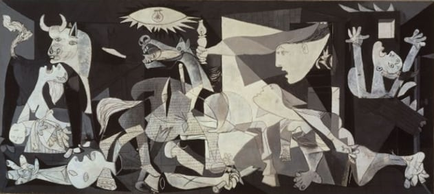 Guernica Picasso Famous Paintings in the World