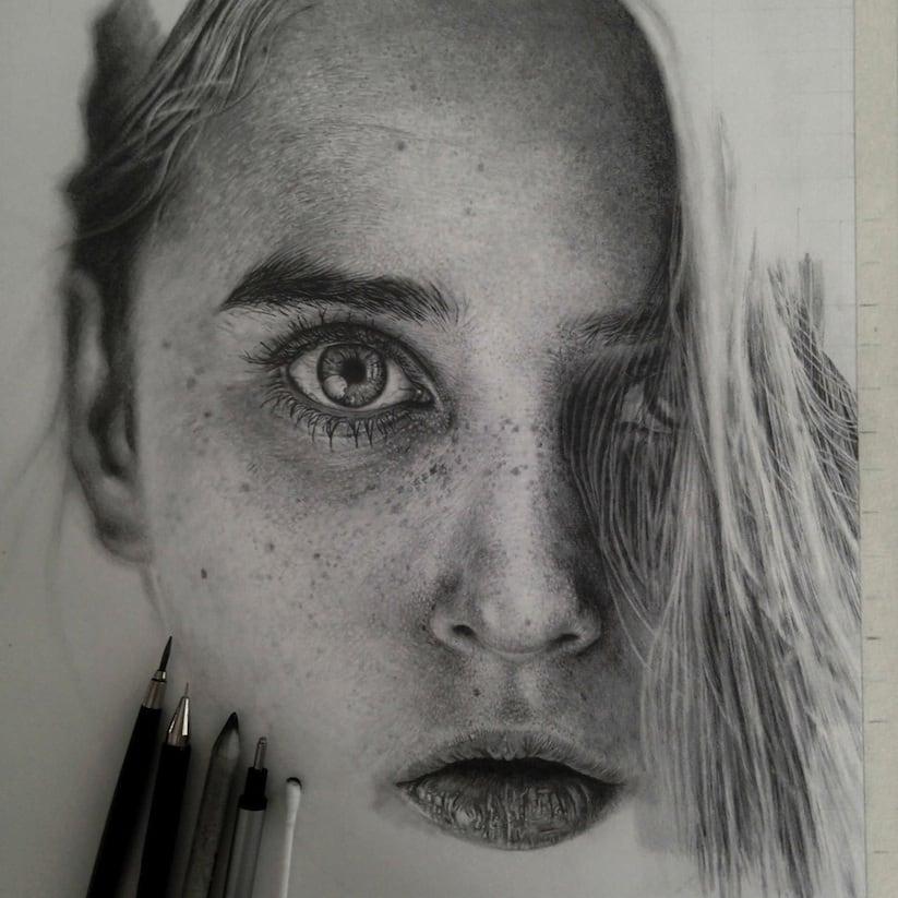 Hyperrealistic Pencil Drawings By Monica Lee 2014 01