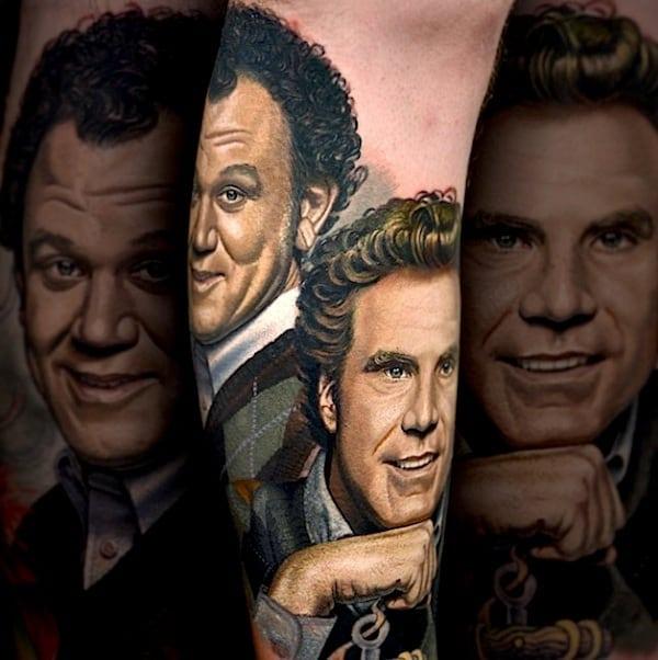 Hyperrealistic Portrait Tattoo Art by Nikko Hurtado 2014 01