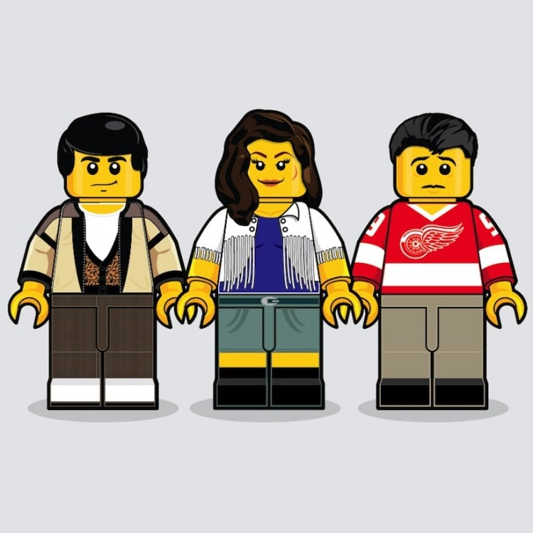 Iconic Movies Remembered in Lego by Dan Shearn 2014 01