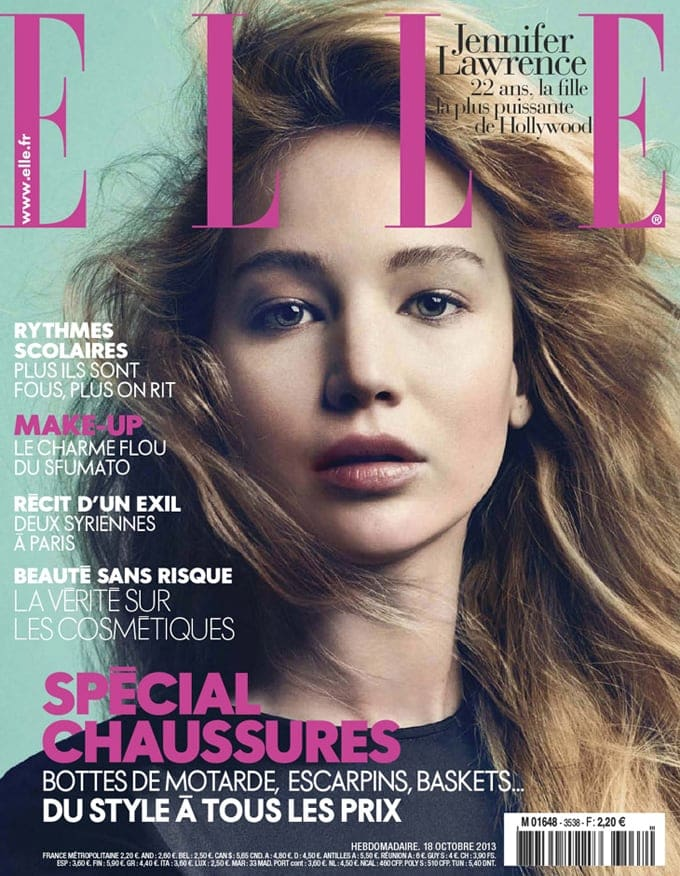 Jennifer Lawrence Elle France Emma Summerton 01