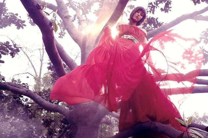 Jessica Biel by Dusan Reljin Love In Bloom US InStyle August 2012 2