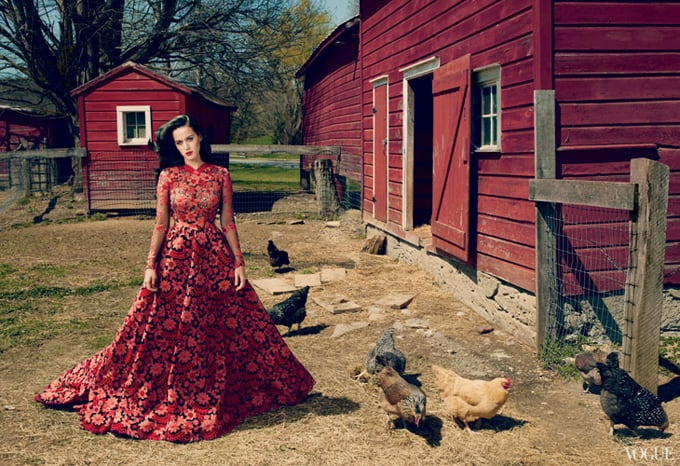 Katy Perry Vogue US Annie Leibovitz 02