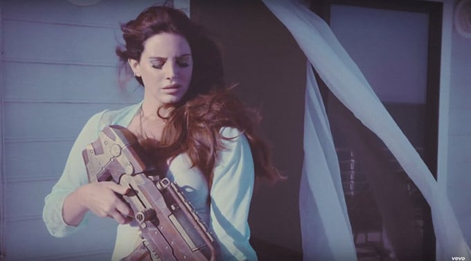 Lana Del Rey High Beach Music Video
