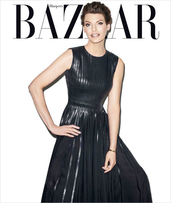 Linda Evangelista Harpers Bazaar US Terry Richardson 01