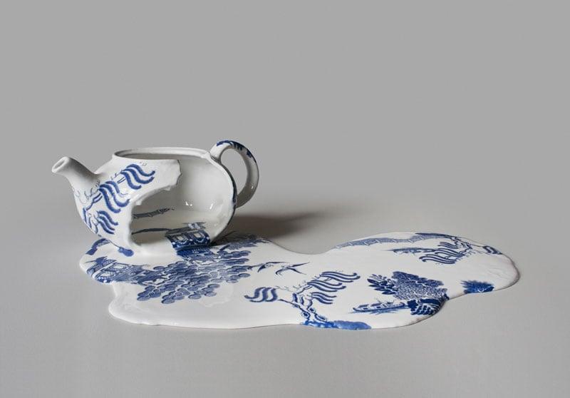 Melting ceramics