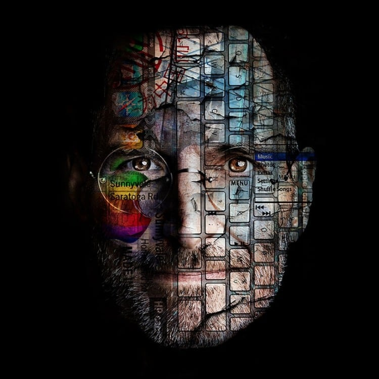 New Icons The Augmented Portraits of Belgian Artist Bruno Timmerman 2014 01