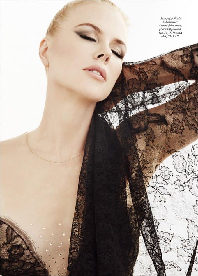 Nicole Kidman Harpers Bazaar Australia James White 02