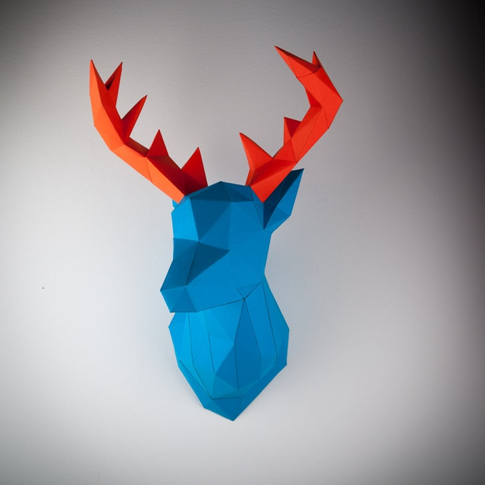 Papertrophy Deer blue