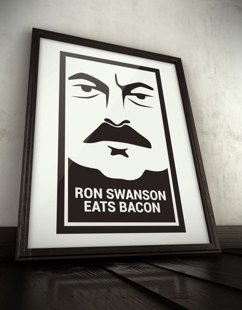 ROnSwanson frame