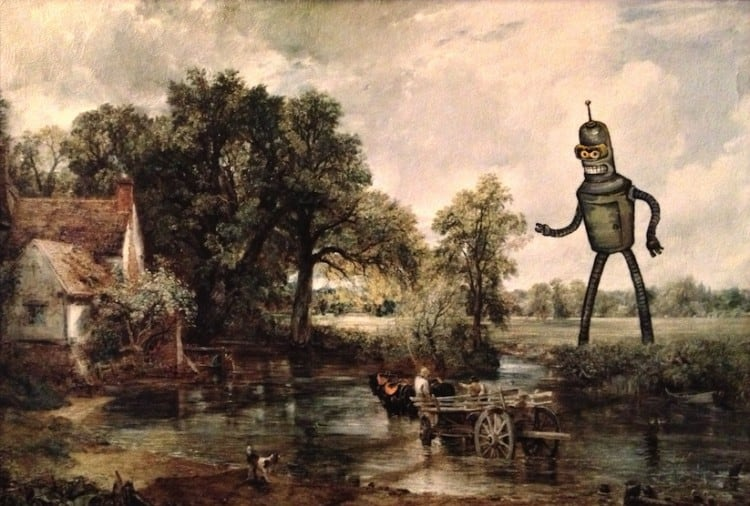 Recreations of Thrift Store Paintings by Dave Pollot 2014 01