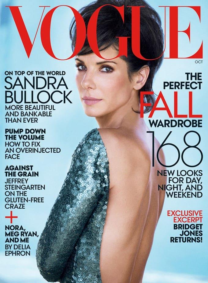 Sandra Bullock Vogue US Peter Lindbergh 01