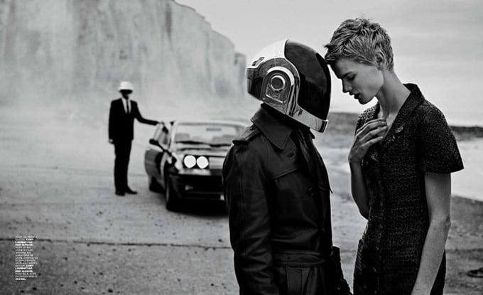 Saskia Brauw Daft Punk Peter Lindbergh M Le Monde 07