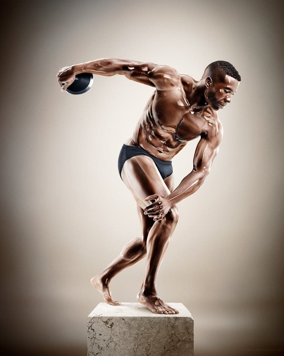 Sculpture Athletes 01