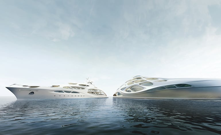 Superyacht by Zaha Hadid for Blohm and Voss1