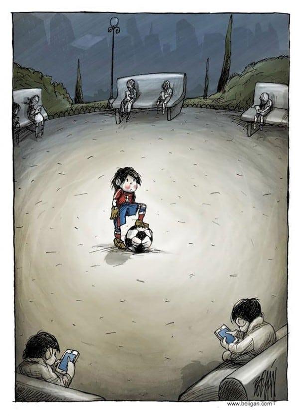 Surreal Contemporary Cartoons by Angel Boligan 2