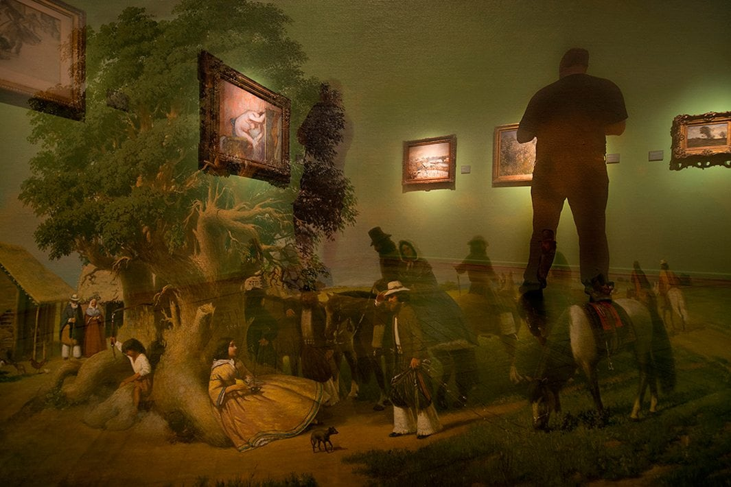 The Museums Ghosts Project by Andres Wertheim