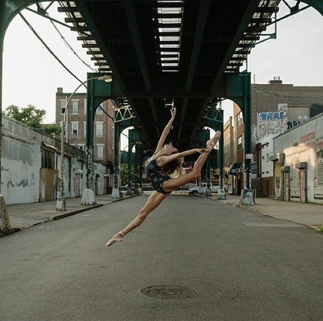 The Ballerina Project Portraits Of Dancers And Ballerinas In Urban Areas 2014 01