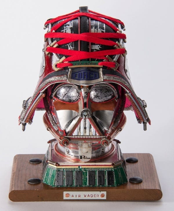 Upcycled STAR WARS Busts by Gabriel Dishaw 2014 01