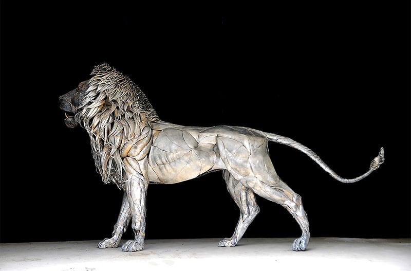 aslan heykeli 2