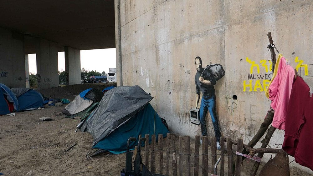 banksy jungle refugee camp freeyork 1
