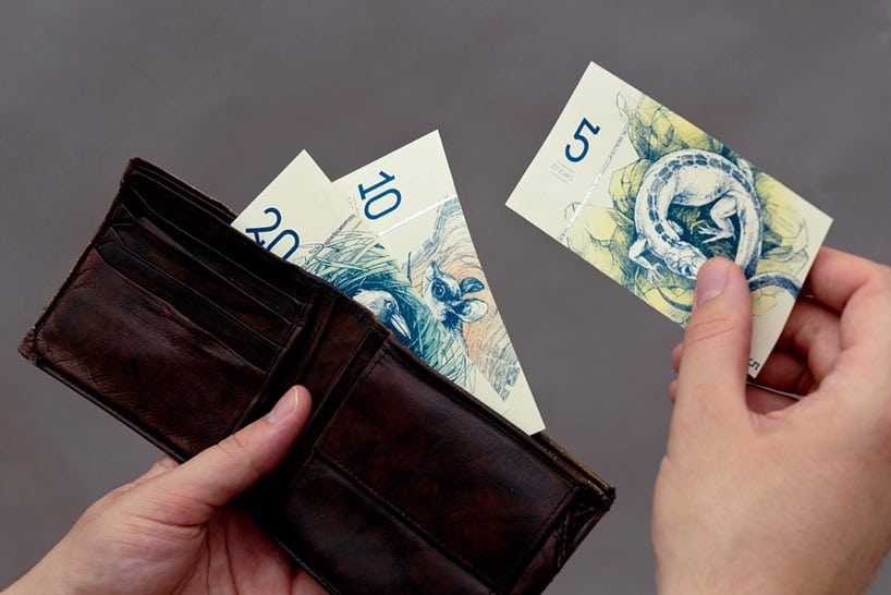 barbara bernat hungarian paper money designboom 02