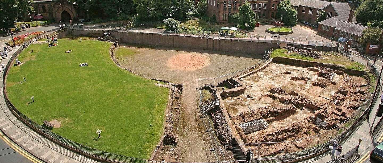 chester roman amphitheatre hero