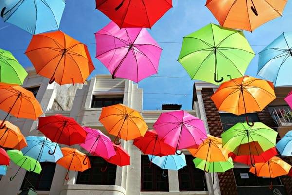 colorful umbrellas 1