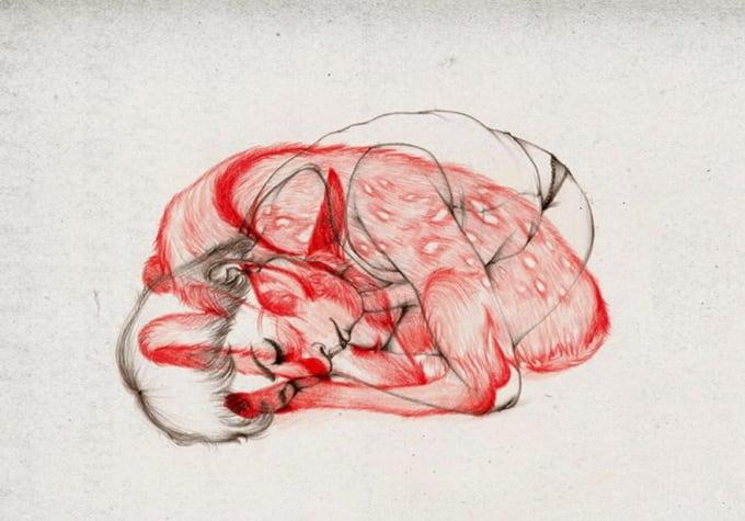 d64bc peony yip animal illustration 1