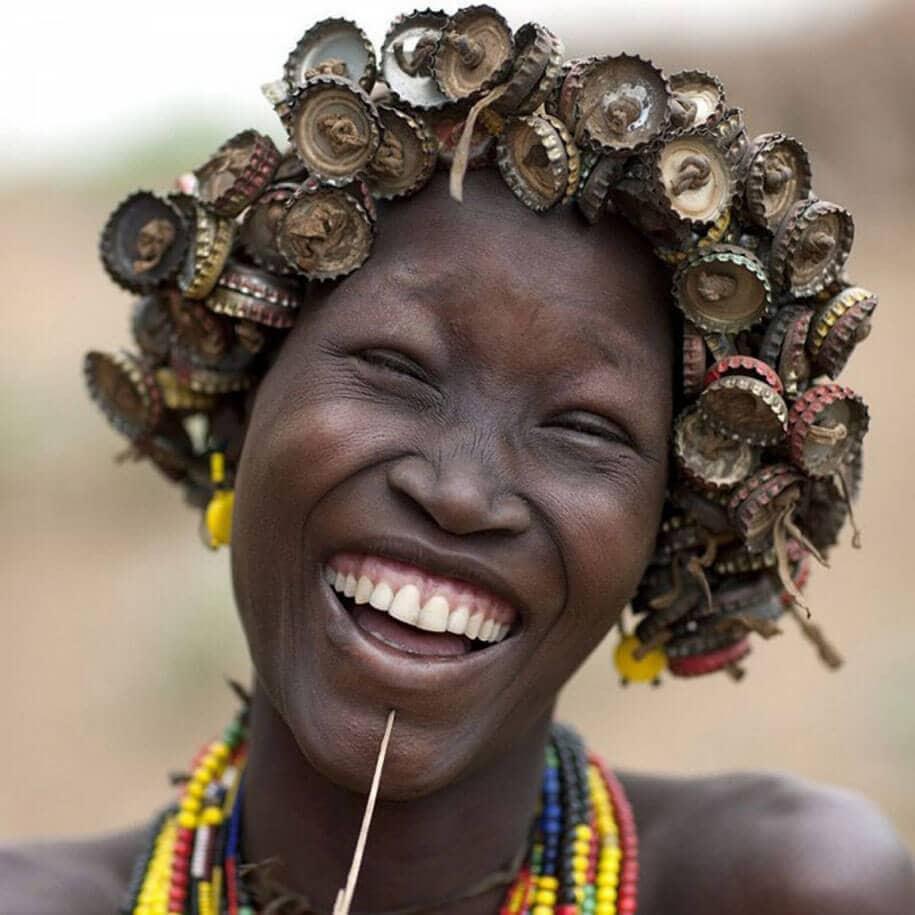 daasanach tribe recycled headwear eric lafforgue ethiopia a