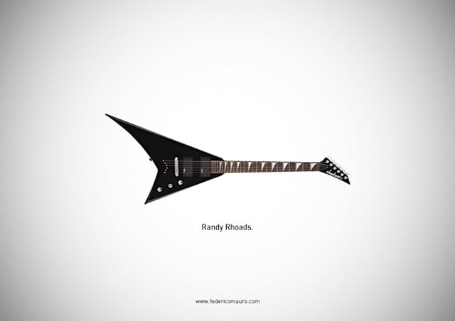famous guitars illustrations by federico mauro 02