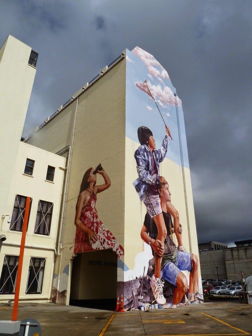 fintan magee mural dunedin 01