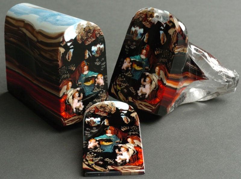 glass murrine by loren stump loaf of bread art 4