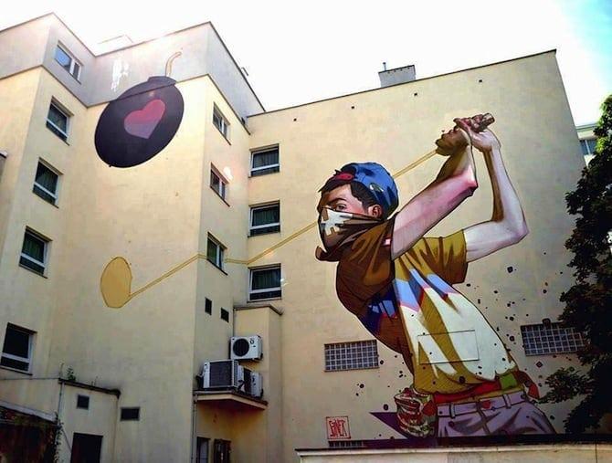 graffiti polish artists Sainer and Bezt 13