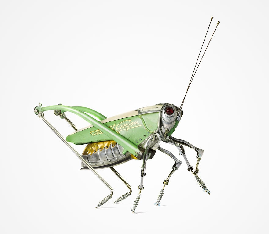 insect sculptures edouard martinet 17