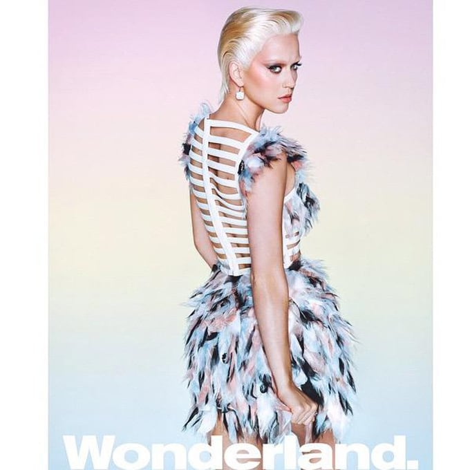 katy perry blonde wonderland