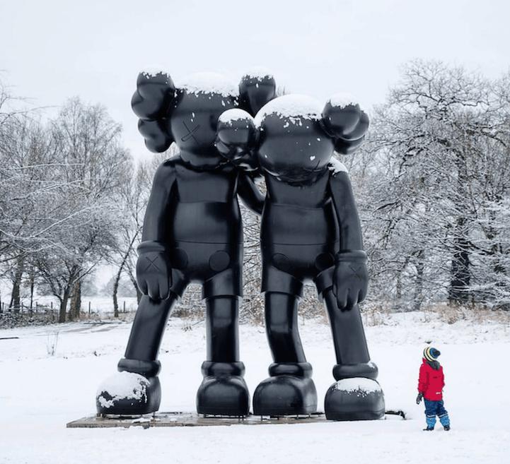 kaws sculptures yorkshire sculpture park fy 10
