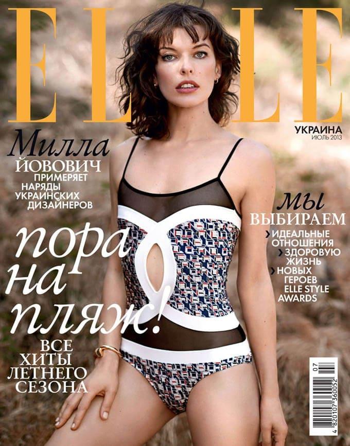 milla elle ukraine cover