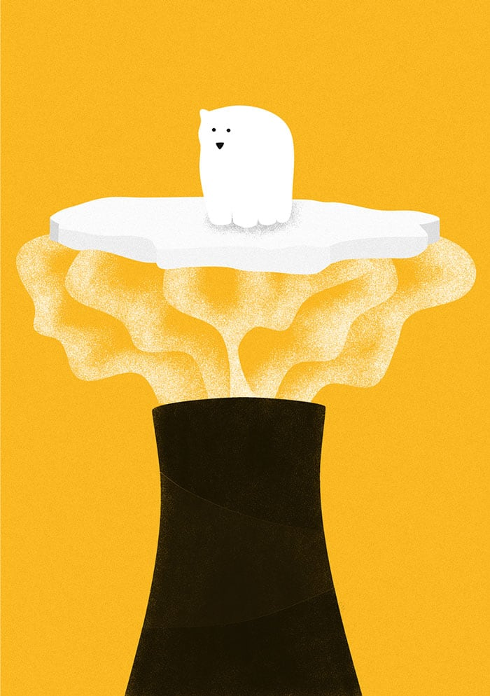 minimalistic illustrations daily habits killing our planet egle plytnikaite lithuania 4
