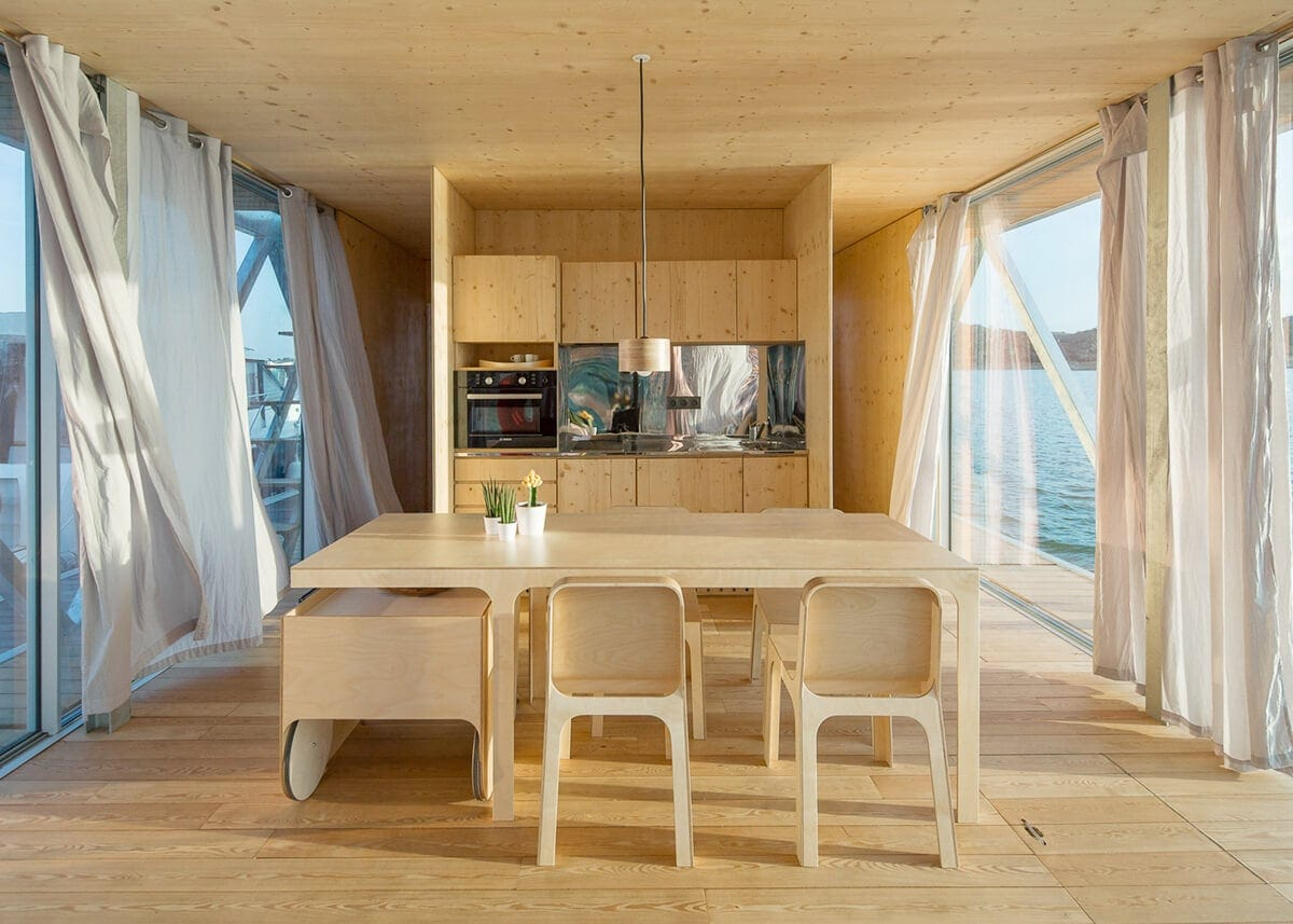 modular floating house by friday 1